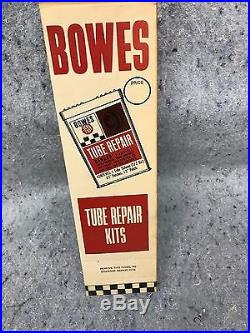 12 Vintage Bowes Seal Fast Tube Tire Patch Repair Kits Can Oil Gas with Display