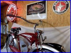 2009 Schwinn New Belgium Fat Tire Beer Tank Bike Vintage B6 Phantom Sign Bar Pub