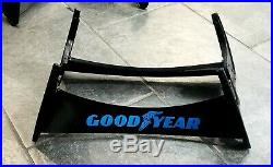 (3) Vintage GOODYEAR Tires Display Stand Store / Gas Station Sign