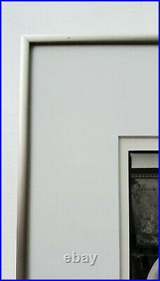 ARTHUR TRESS VINTAGE c. 1994 B&W PHOTOGRAPH OF A MALE NUDE TORSO & TIRES