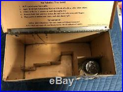 Antique Vintage BOWES SEAL FAST Tire Repair Cabinet Woman w Product Gas Oil OLD