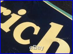 Beautiful Vintage BF Goodrich Tires NOS Painted Steel Signs