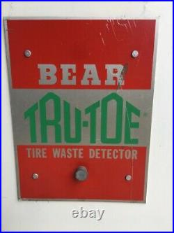 Collection Vintage Bear Wheel Alignment Service Equipment Tire Tru-toe