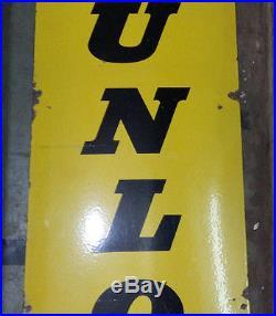 Dunlop Tire Vintage Old Dunlop Tyre Enamel Porcelain Sign
