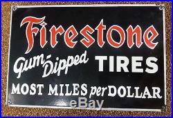 FireStone Tires FireStone Tyre NEW QUALITY enamel Porcelain sign Retro vintage