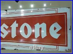 Firestone Sign Vintage firestone tire enamel sign porcelain tyre enamel sign