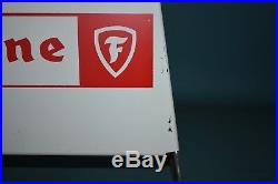 Firestone Vintage Tire Display Rack Stand Gas Station Service