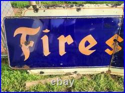 Firestone sign vintage tire sign