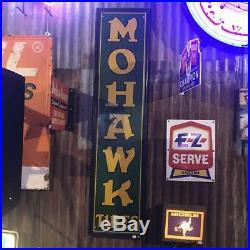 Mohawk Tires Vintage Sign 258D