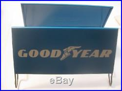 Nos Rare Vintage Goodyear Tires Tire Advertising Store Display Tire Holder Sign