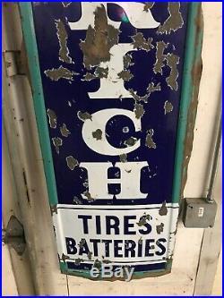 Porcelain Goodrich Tires Collectable Vintage Gas Oil 1960s