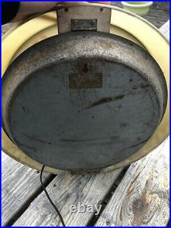 RARE 1950s VINTAGE DUNLOP TIRES ADVERTISING LIGHT UP BUBBLE CLOCK READ DESCRIP