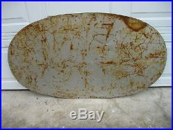 Rare Vintage 1948 KELLY SPRINGFIELD TIRES 48x28 Tin Sign Coshocton OH