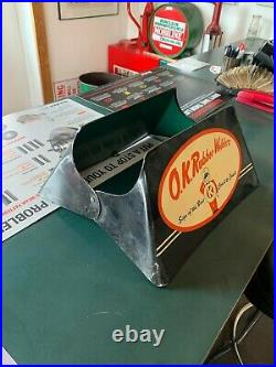 Rare Vintage Tire Display Stand Ok Rubber Welders