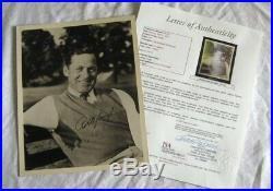 Robert Tyre Bobby Jones 30's Vintage Signed Photo JSA