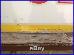 SST Early ORIGINAL Goodyear Tire and BATTERY vintage sign EMBOSSED 42 x 42
