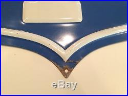 U. S. Royal Uniroyal Safety 1st Tire Sign Vintage Original 1950's 1960s 23 X 24
