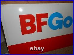 VINTAGE NOS in BOX BF GOODRICH CAR AUTO TIRES GAS STATION ADVERTISING SIGN