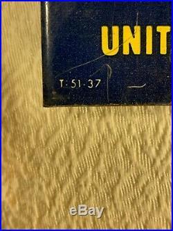 Vintage 1951 U. S. Royal Tires Camelback Tin Over Cardboard Sign