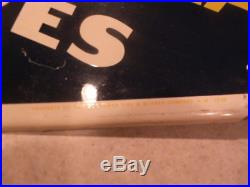 Vintage 1958 Goodyear Tires Tire Gas Station Oil 28 Metal SignNice