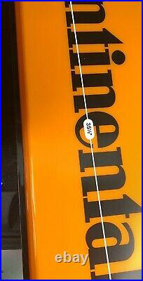 Vintage 70s-80s Double Sided Continental Tire advertising Light up sign