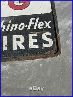 Vintage Advertising Armstrong Tires Sign, Rhino Flex Original 72 X 18