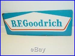Vintage Advertising B. F. Goodrich Tires Sign, Metal, Original