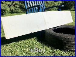 Vintage Antique Large 66 Goodyear Tires Sign