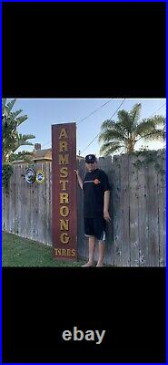 Vintage Armstrong Tire Sign