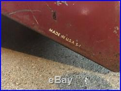 Vintage Atlas Tire Holder Display Rack Sign