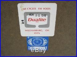 Vintage B. F. GOODRICH Dealer Advertising Lighted Sign Circa 1989