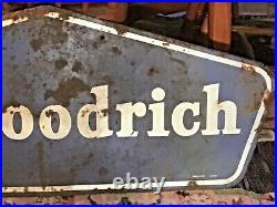 Vintage B. F. Goodrich Tires Metal Sign A-m 5-61