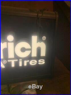 Vintage BF Goodrich Light Up Sign