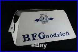 Vintage BF Goodrich Tire Sign Stand Display Gas Oil Garage Decor