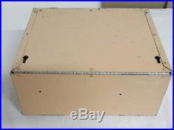 Vintage Bowes Seal Fast Metal Cabinet Sign- Tube & Tire Repair Display