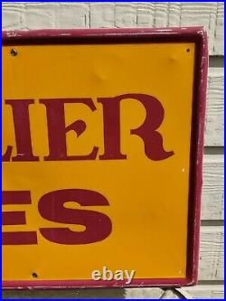 Vintage Cavalier Tire Sign 42 x 22 FREE SHIPPING