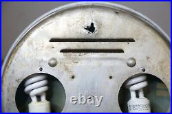 Vintage Cooper Tires Advertising Pam Clock Gas and Oil sign
