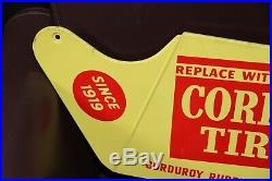 Vintage Corduroy Tires Since 1919 Dealer Tire Display Rack Tire Sign