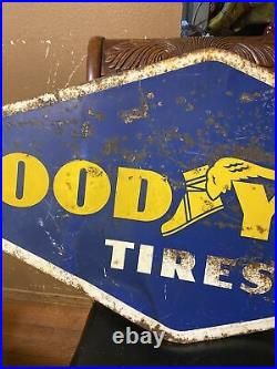 Vintage Double Sided Goodyear Dated 1960 A-M 54WX25H