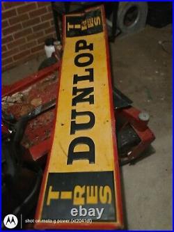 Vintage Dunlap Tire Sign