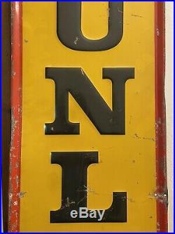 Vintage Dunlop Tire Sign 60x 14