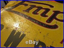 Vintage Early Rare Empire Tire Sign CW Sexton Waynesboro, PA 1900, s