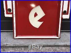 Vintage FIRESTONE gas oil auto tire sign Not Porcelain