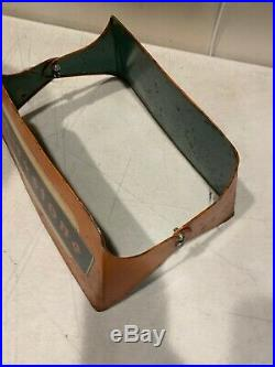 Vintage Firestone Fogarty Display Stand Metal Advertising +Deluxe Champ Tire