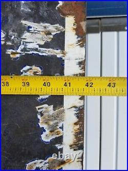 Vintage Firestone Sign Porcelain Auto Gas Oil Tires Batteries Service 96×42