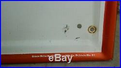 Vintage Firestone Tires Embossed Metal Vertical Sign (71x13), Grace-Brite