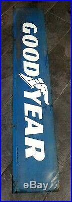 Vintage GOODYEAR Tire Old Sign 1973