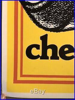 Vintage Gas Oil Dealer Garage KICK ME Check Tires Auto Car Poster Sign 29x44