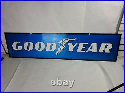 Vintage Goodyear Buy Goodyear Tires. Use Your Credit Card! Metal Sign