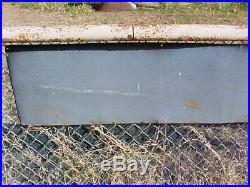 Vintage Goodyear Tires Metal Sign Rare 8ft Dealer Display
